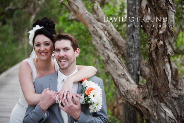 Byron Bay bride and groom